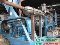 Máy băm gỗ động cơ dầu công suất 5 Tấn